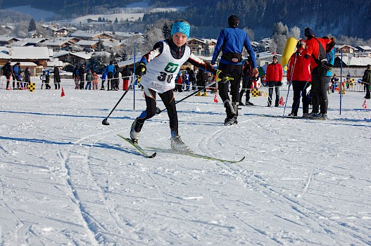 Langlauf Skiercross in Reith