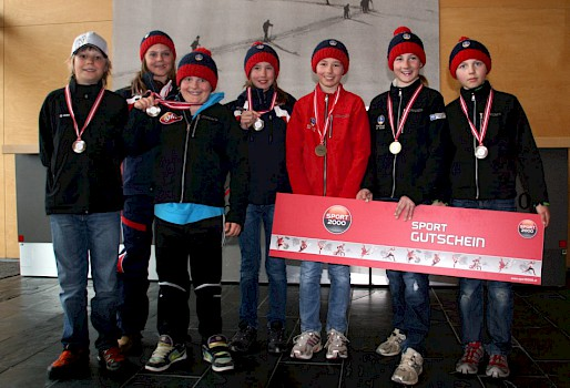 Technikbewerb der Kinder in St. Anton
