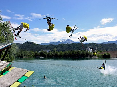 Water-Freestyle Contest in Villach