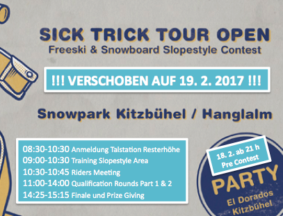 Sick Trick Tour Open