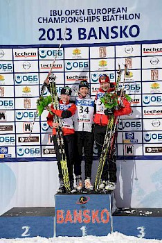 Junioren Bronze in Bansko
