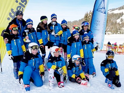 KSC Kinder in Brixen am Podium