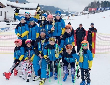 KSC Alpinkinder am Podium in Kirchberg