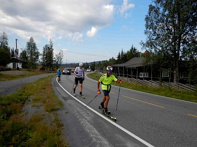 Trainingscamp in Norwegen