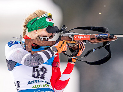 Lisa Hauser sprintet in die Top-15