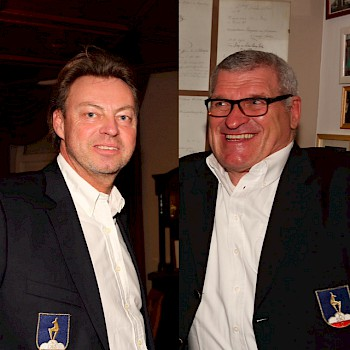 Wolfgang Leitner und Hannes Huter